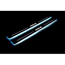 Накладки на пороги з підсвіткою Acura RSX 2002-2006 - (тип Static)