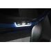 Накладки на пороги з підсвіткою Ford Focus IV 2018+ з логотипом ST (rear doors) - (тип Static)
