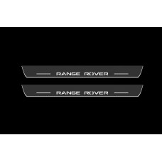 Накладки на пороги з підсвіткою Range Rover Sport II 2013+ - (тип Static)