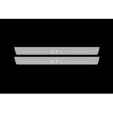 Накладки на пороги з підсвіткою Toyota GT86 2012+ - (тип Static)